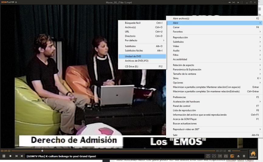 Reproductor de DVD para Windows 10 gratis