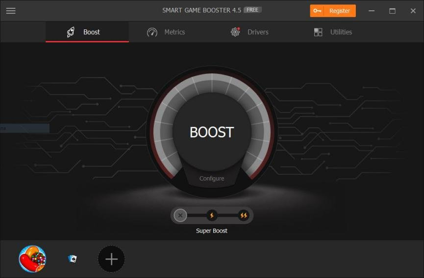Smart Game Booster pc gamer
